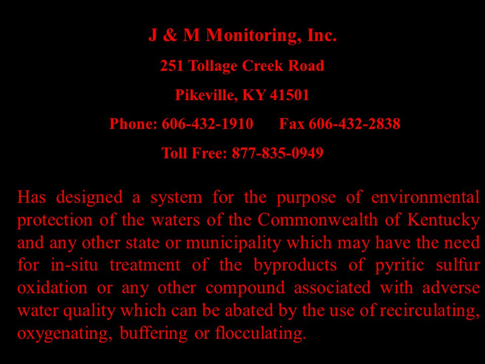 J & M Monitoring, Inc.