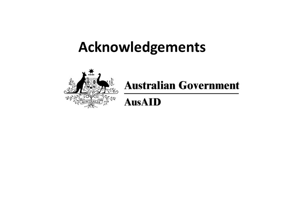 Many Acknowledgements
