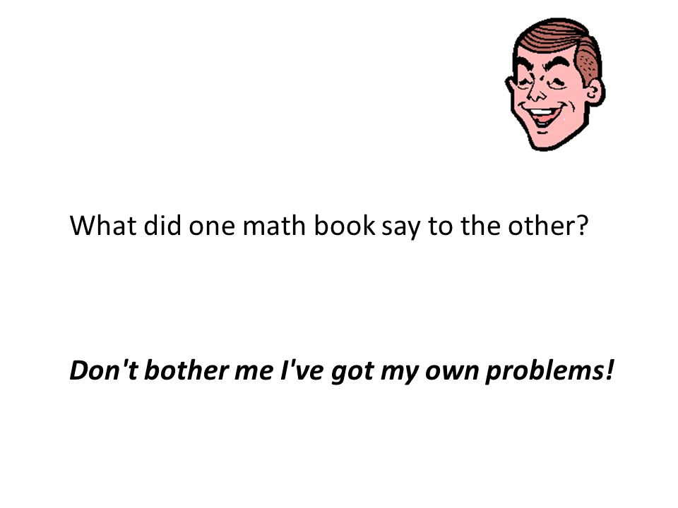 Did you know that 5 out of every 4 people have a problem with fractions?