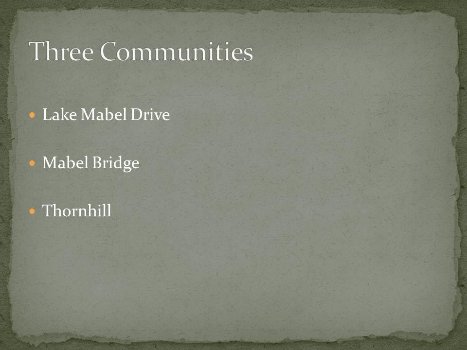Lake Mabel Drive Mabel Bridge Thornhill