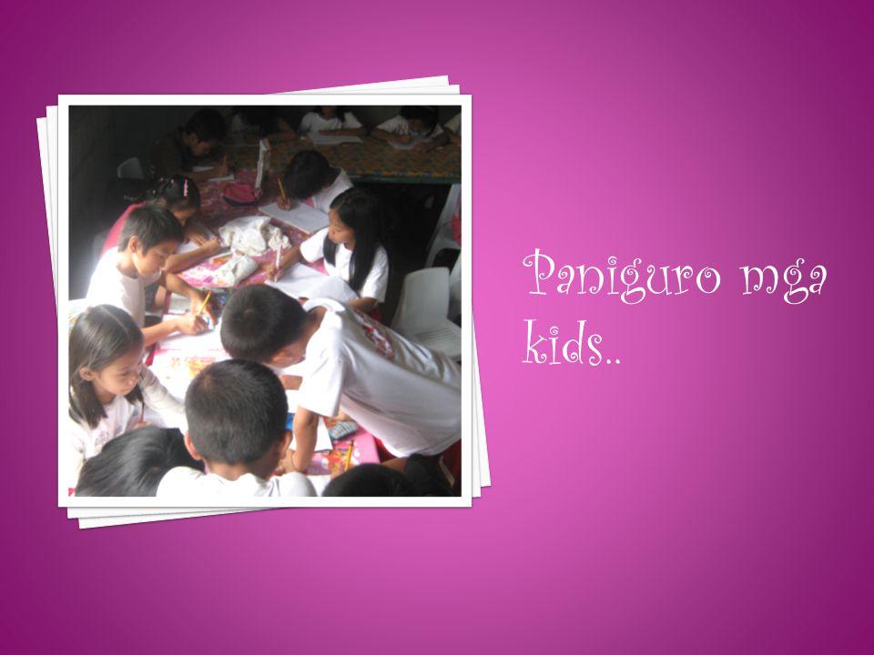 Paniguro mga kids..