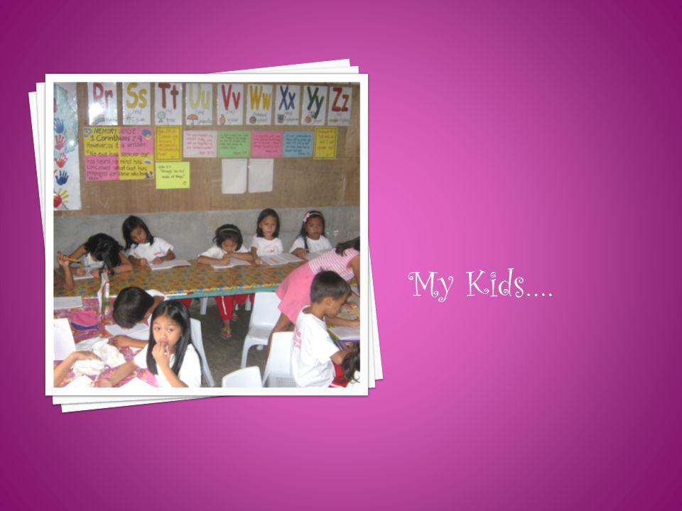 My Kids….