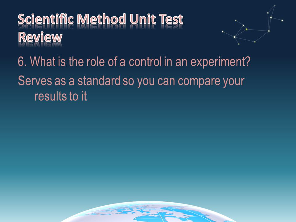 27.Write a Hypothesis for this experiment.