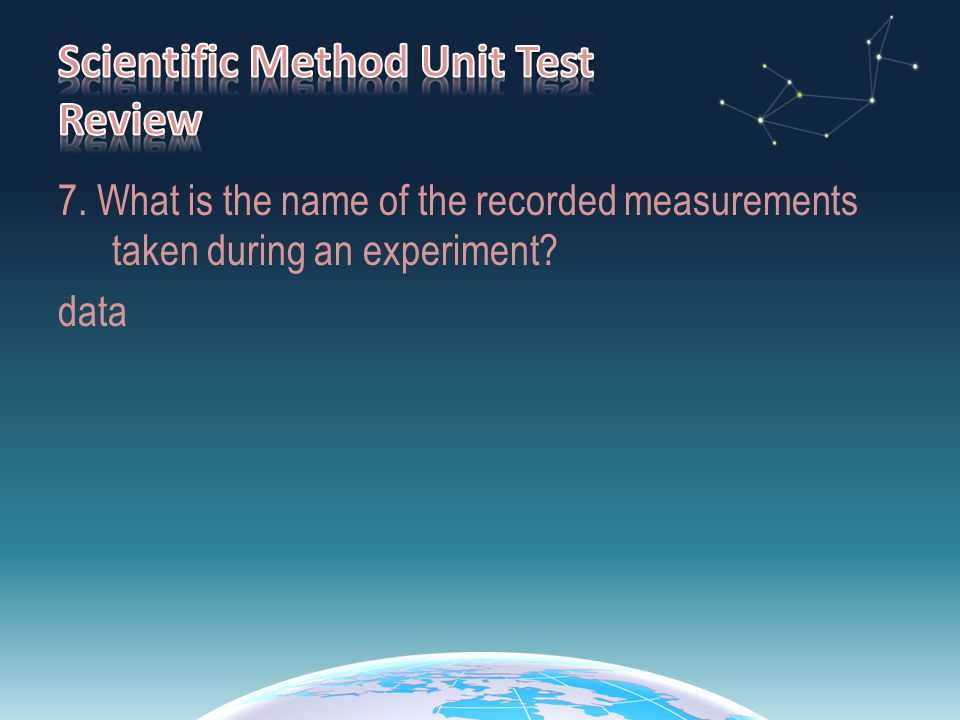 28.Highlight the sentences in the experiment which describe the procedure.