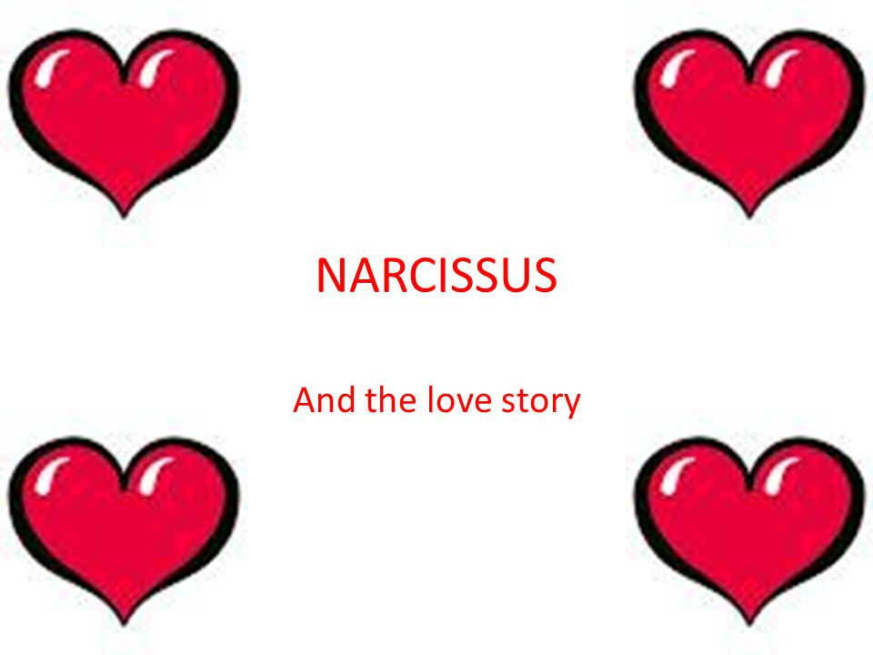 NARCISSUS And the love story