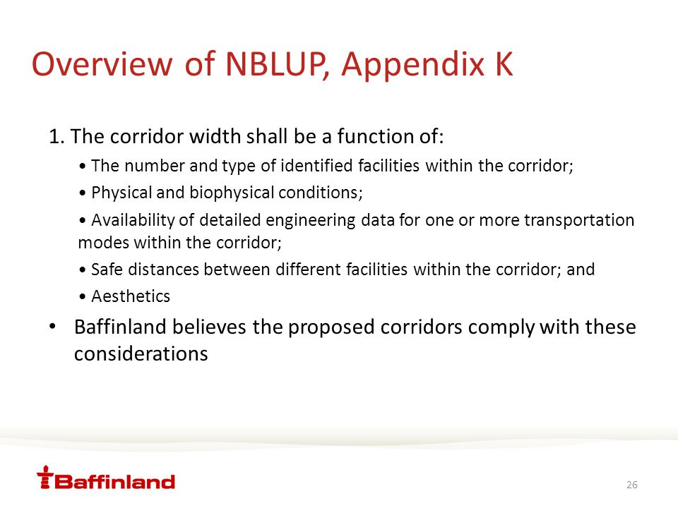 Overview of NBLUP, Appendix K 1.