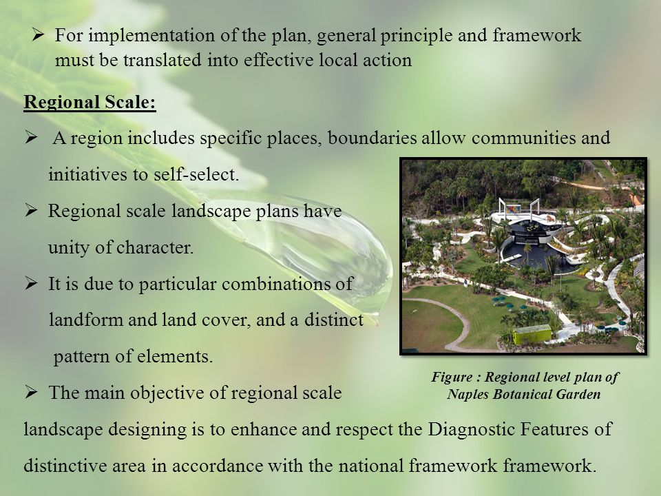 Regional Scale:  A region includes specific places, boundaries allow communities and initiatives to self-select.