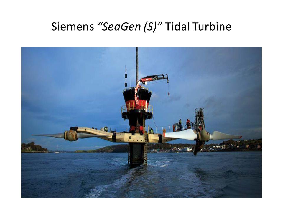 Siemens SeaGen (S) Tidal Turbine