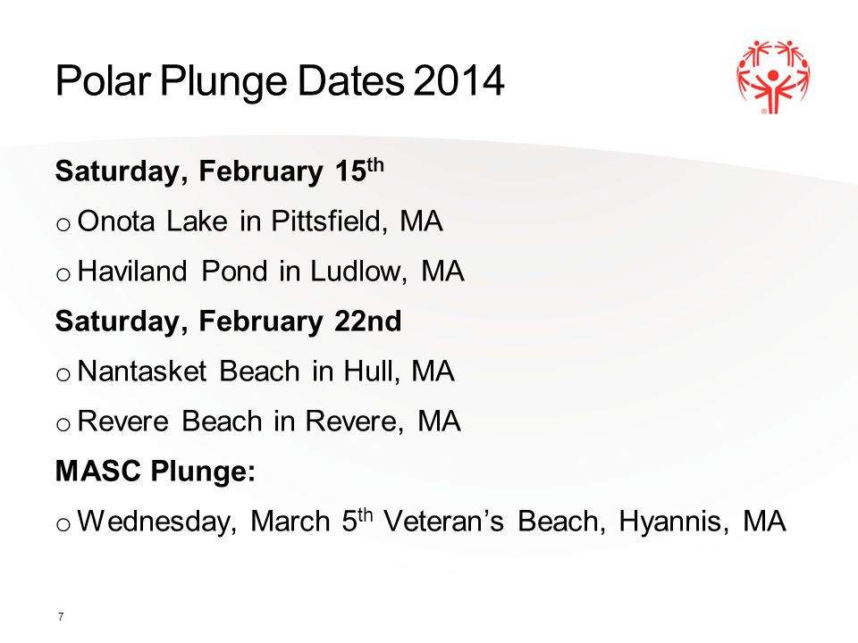 Fun Facts The Polar Plunge was established in 1999.