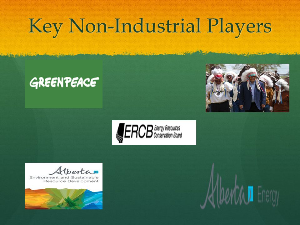 Key Non-Industrial Players