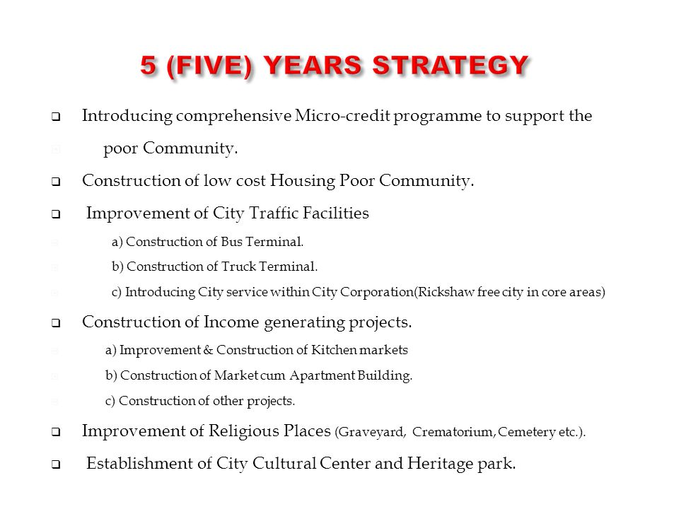  Introducing comprehensive Micro-credit programme to support the  poor Community.