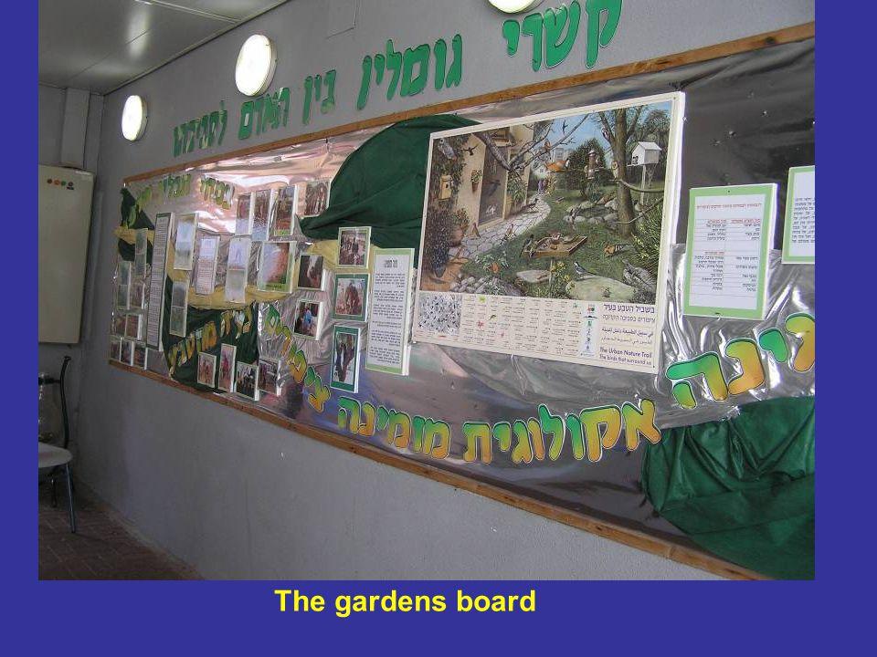 The gardens board