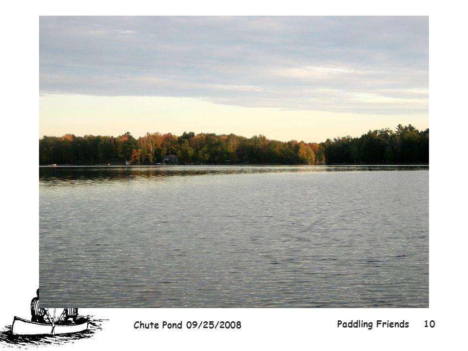 Chute Pond 09/25/2008 Paddling Friends10