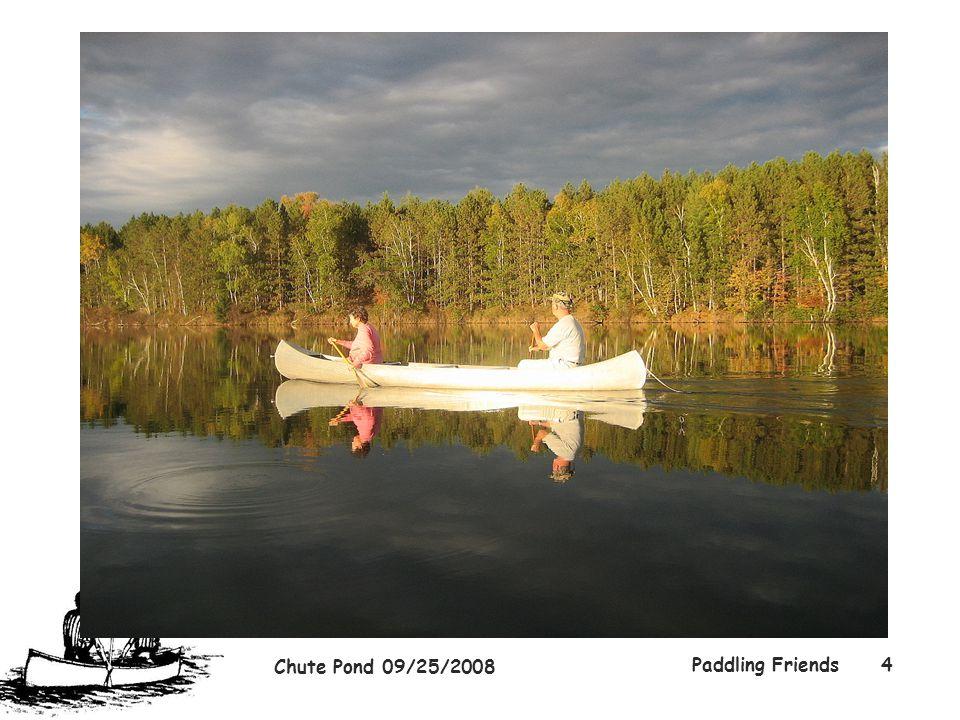 Chute Pond 09/25/2008 Paddling Friends4