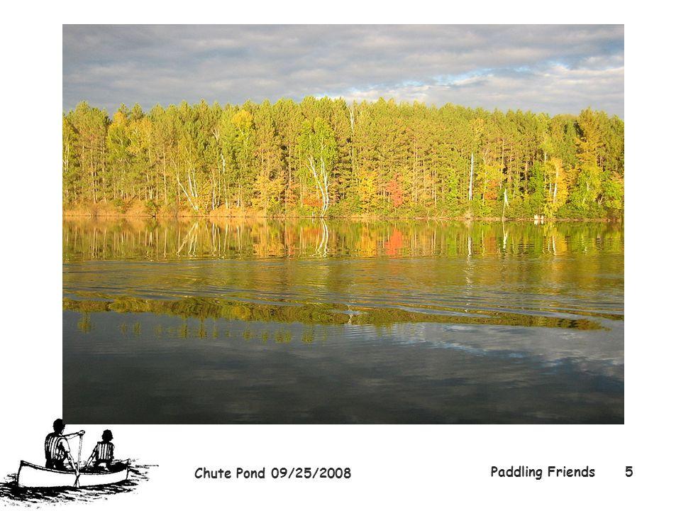 Chute Pond 09/25/2008 Paddling Friends5
