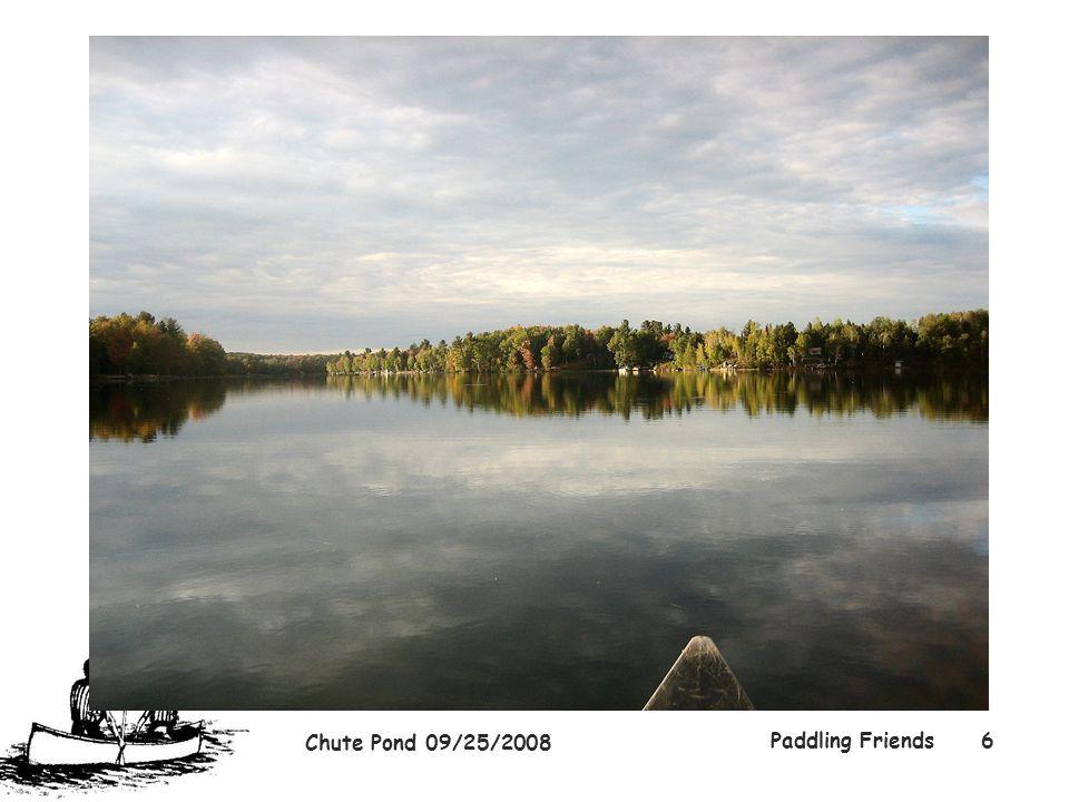 Chute Pond 09/25/2008 Paddling Friends6