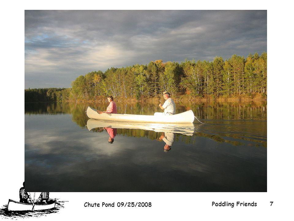 Chute Pond 09/25/2008 Paddling Friends7