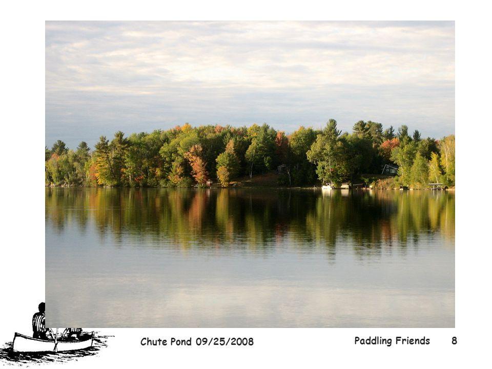 Chute Pond 09/25/2008 Paddling Friends8