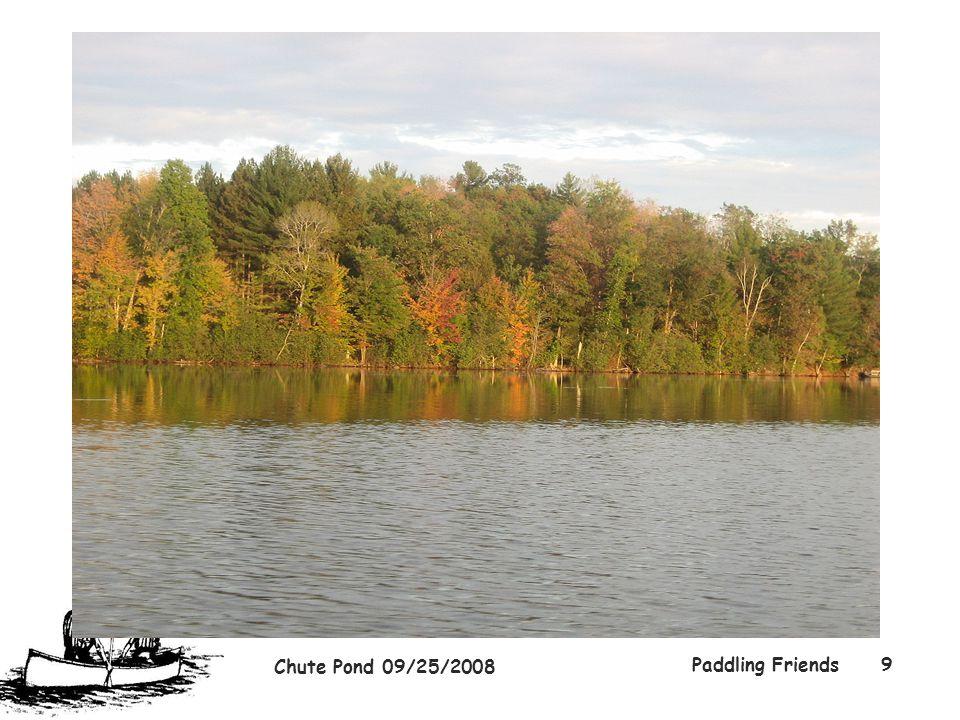 Chute Pond 09/25/2008 Paddling Friends9