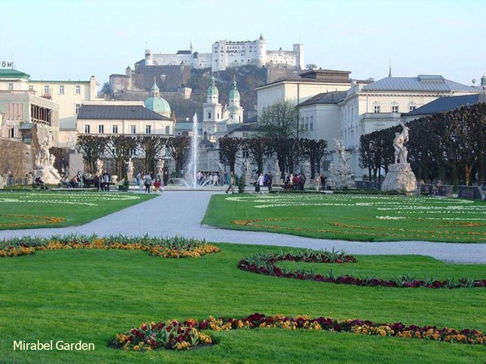 Mirabel Garden, Salzburg, Austria