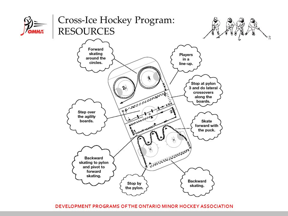 DEVELOPMENT PROGRAMS OF THE ONTARIO MINOR HOCKEY ASSOCIATION Cross-Ice Hockey Program: RESOURCES