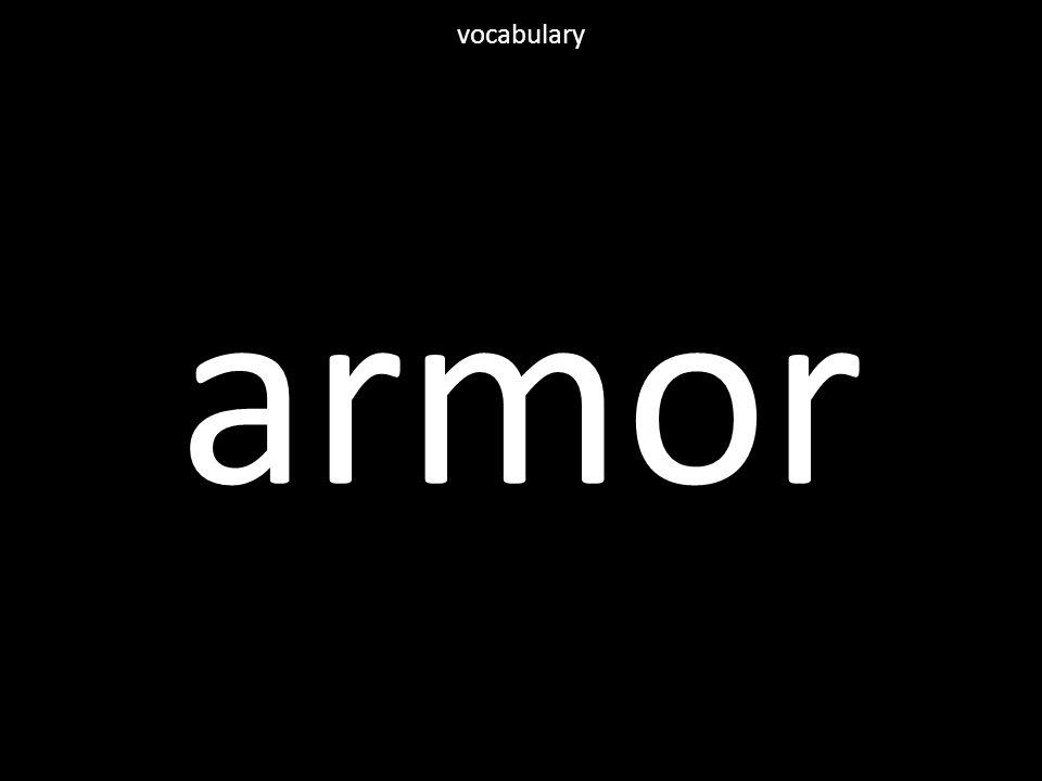 armor vocabulary
