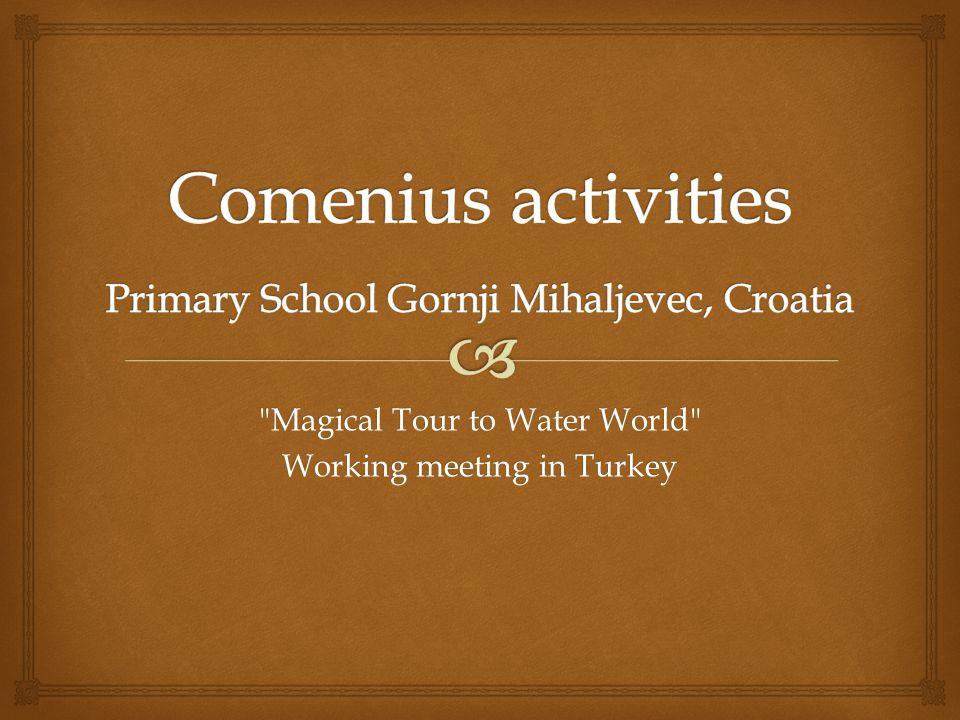  Fishing comics Comenius activity no.