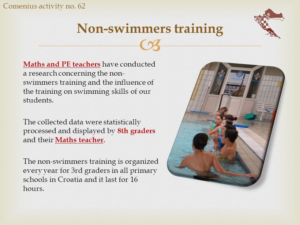  Non-swimmers training Comenius activity no.