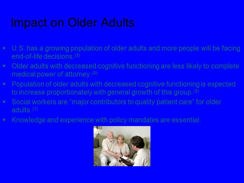 Impact on Older Adults  U.S.