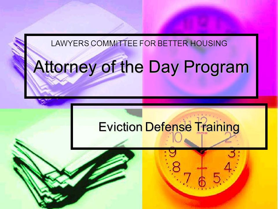 Lawyers' Committee for Better Housing Lawyers' Committee for Better Housing believes that all persons have a right to safe, decent and affordable housing law and policy.