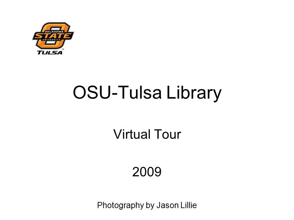 OSU-Tulsa Library Virtual Tour 2009 Photography by Jason Lillie