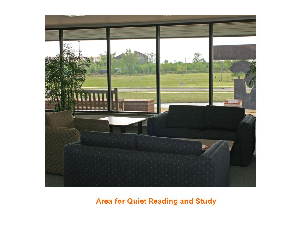 Area for Quiet Reading and Study