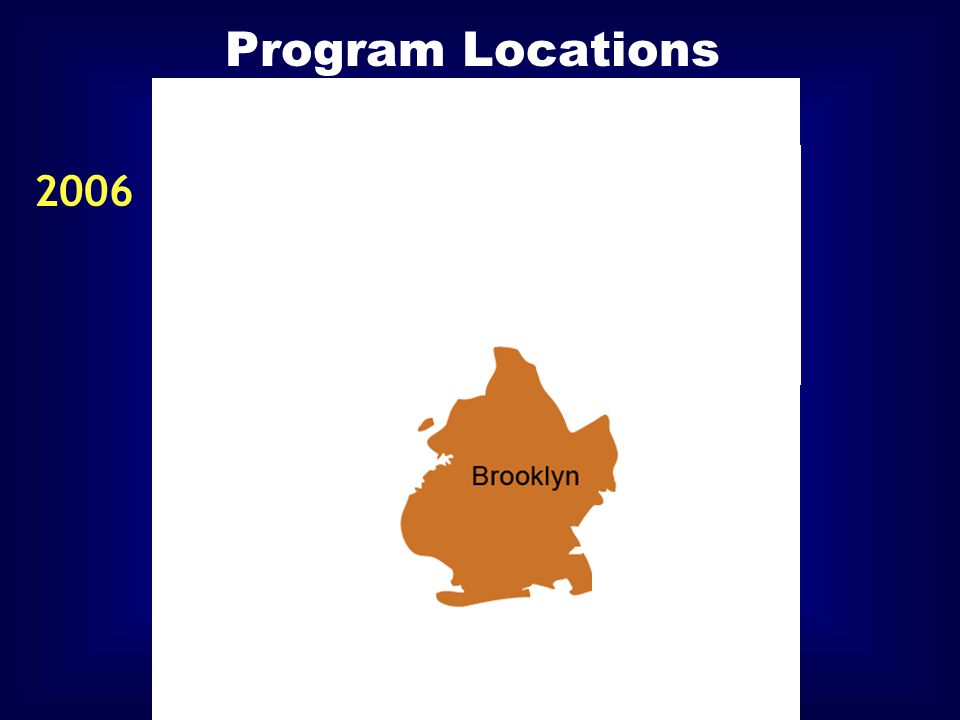 Program Locations 2006