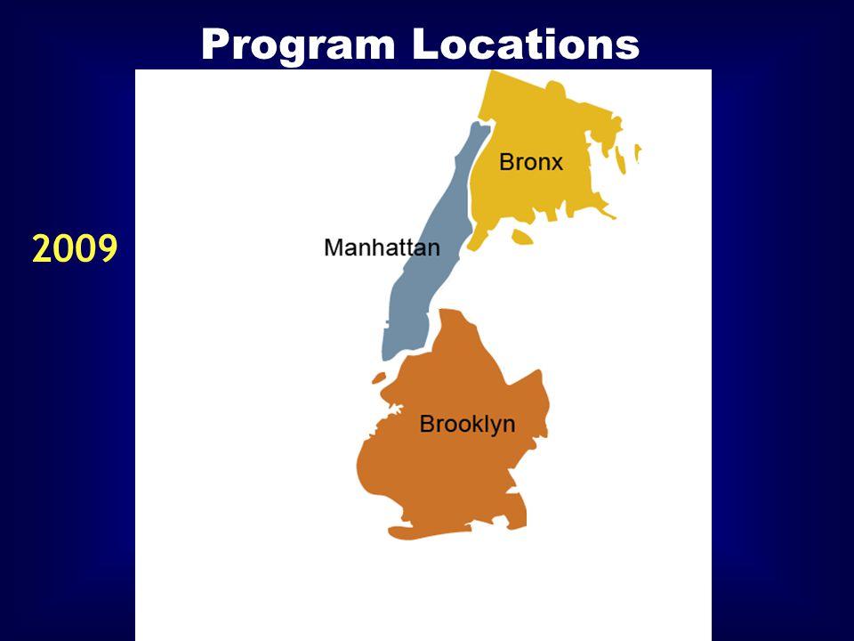 Program Locations 2009