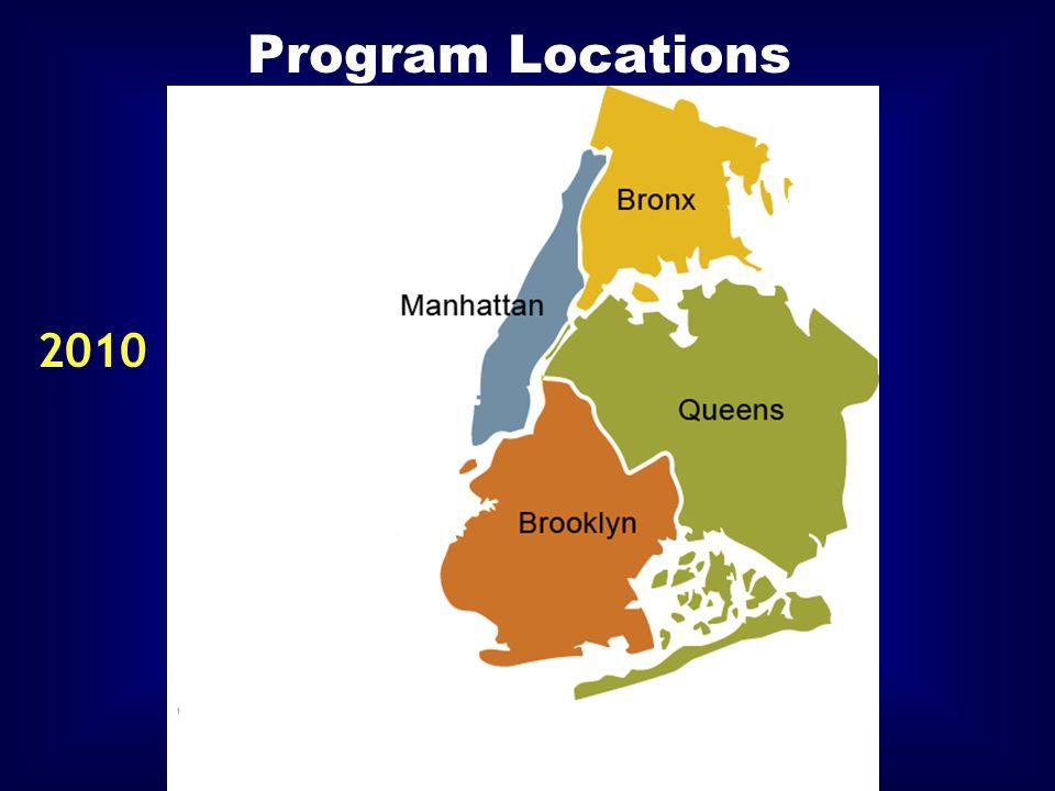 Program Locations 2010