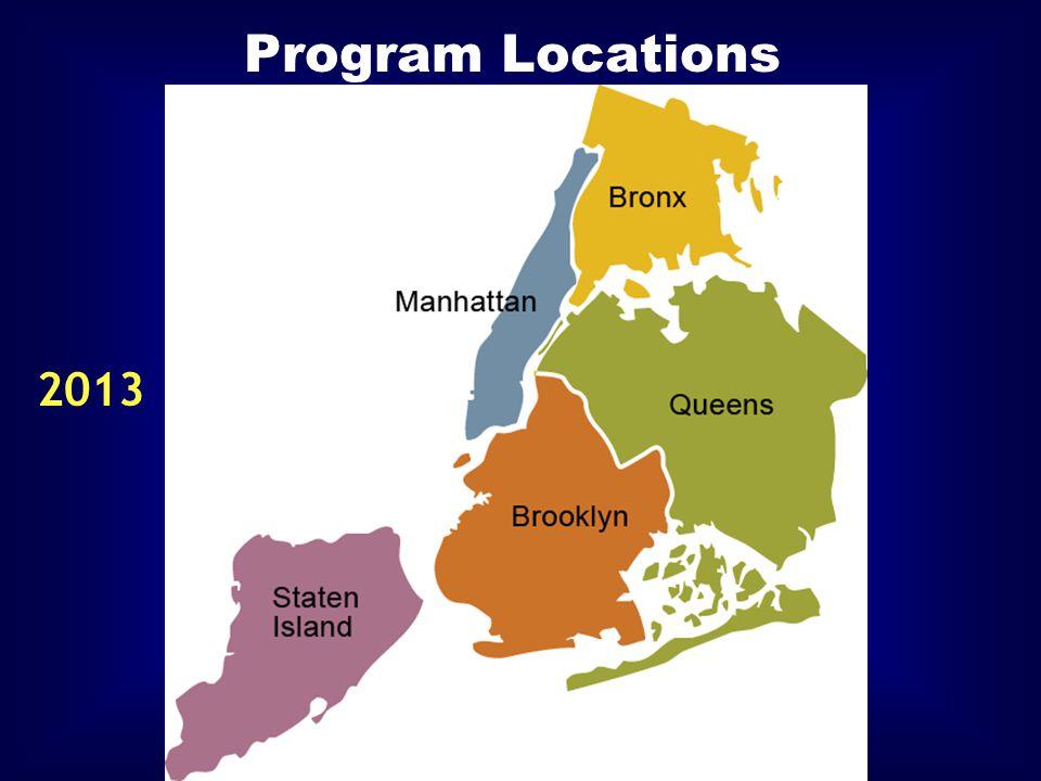 Program Locations 2013