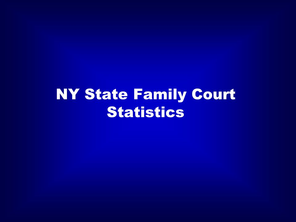 NY State Family Court Statistics