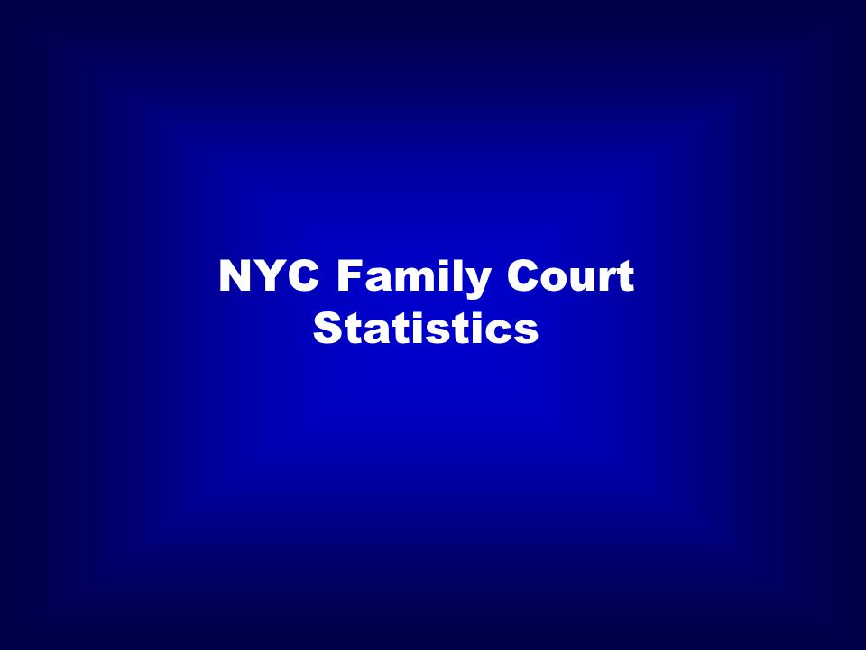 NYC Family Court Statistics