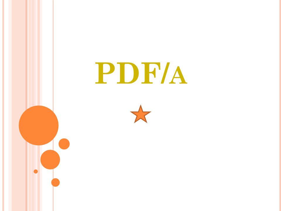 PDF/ A