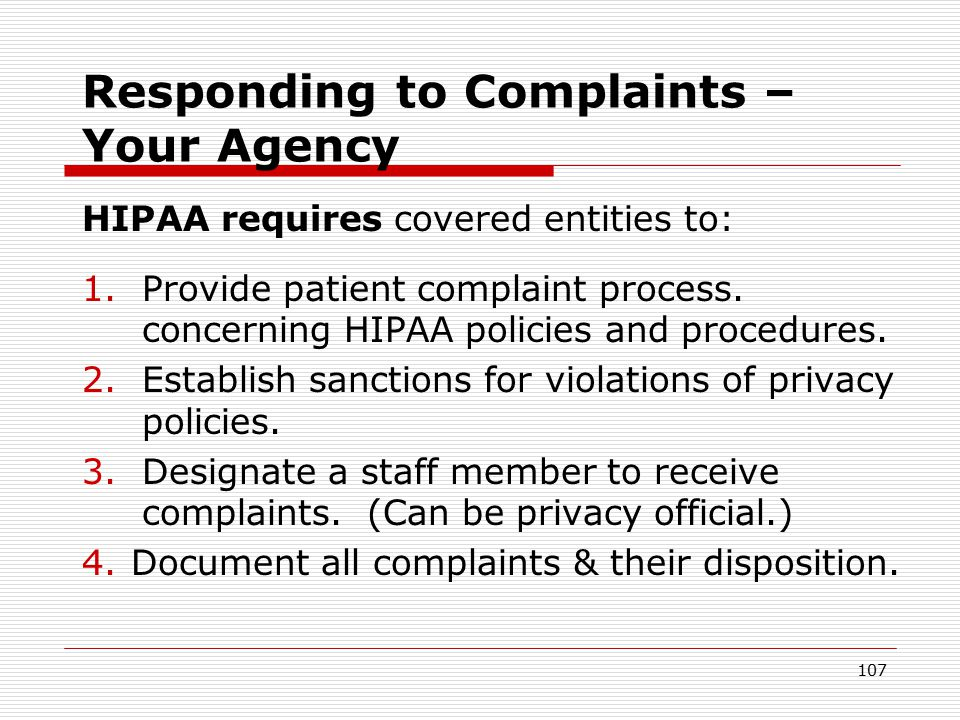 106 CLIENT ADVOCACY Correct answer: #3 – Follow your agency's grievance procedure.