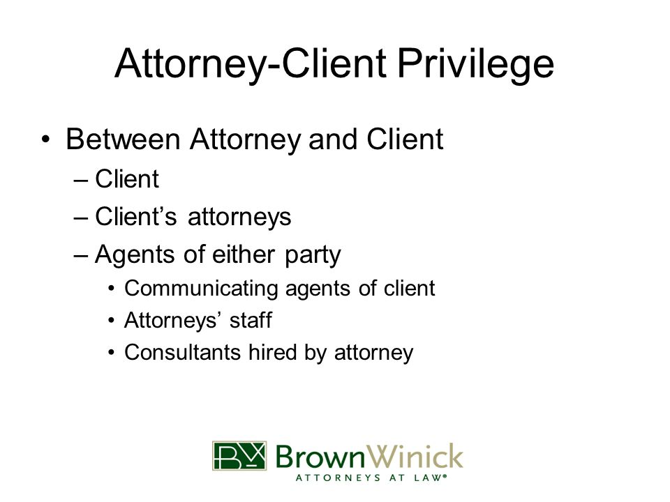 attorney client privilege the flaw in our