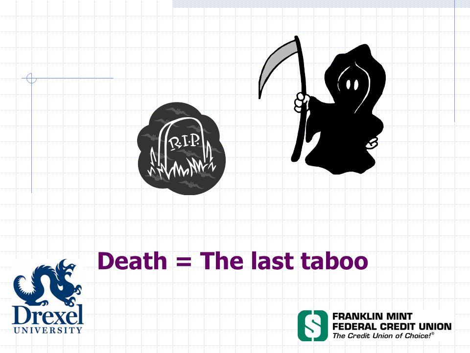 Death = The last taboo