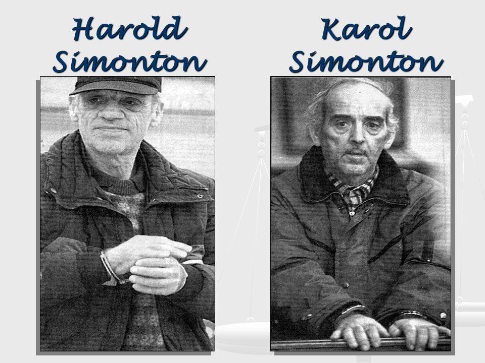 Harold Simonton Karol Simonton