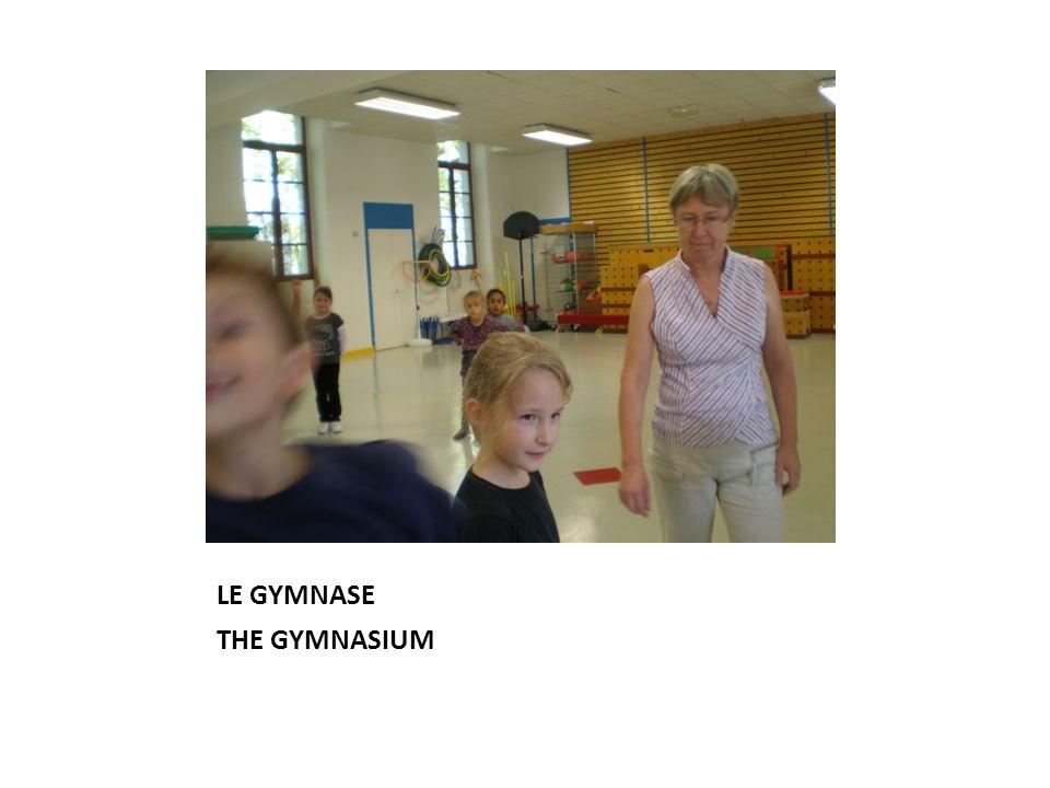 LE GYMNASE THE GYMNASIUM