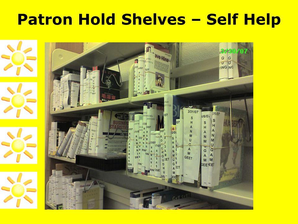 Patron Hold Shelves – Self Help