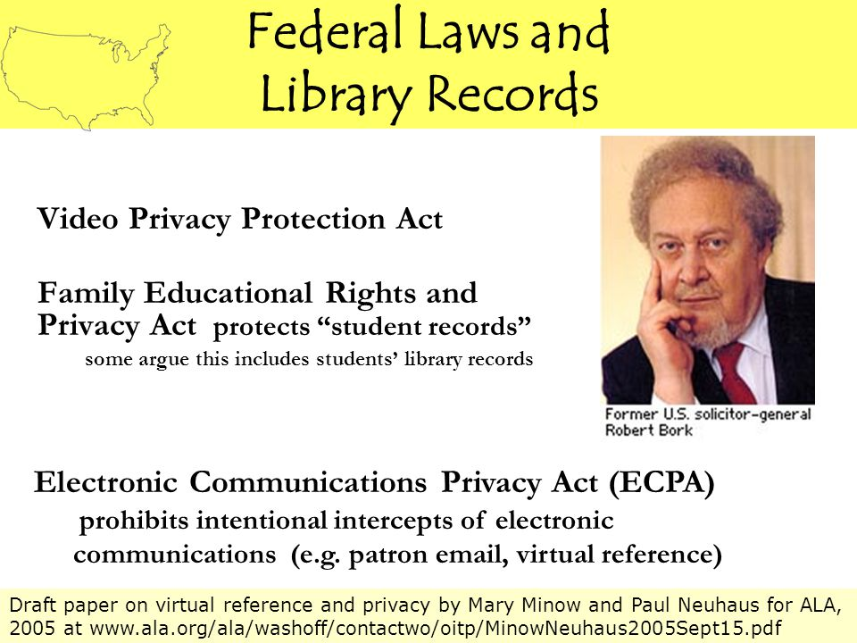 Don't take the librarian's word that your privacy is protected – it may not be 2005 Tynan's Advice to Readers
