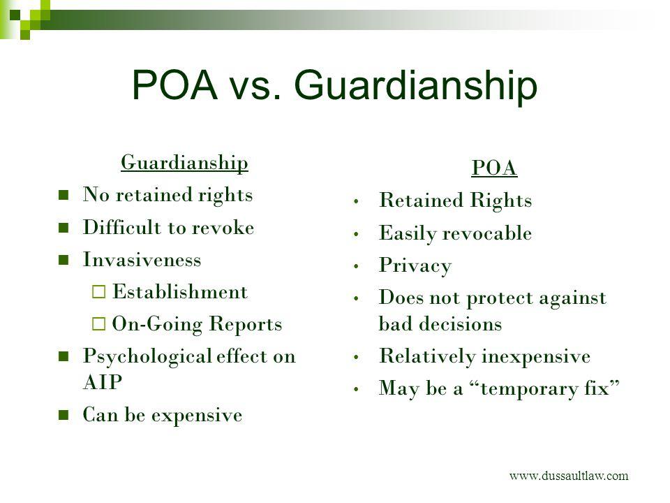 POA vs.