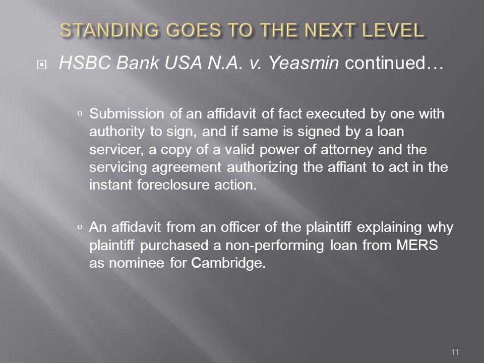  HSBC Bank USA N.A. v.