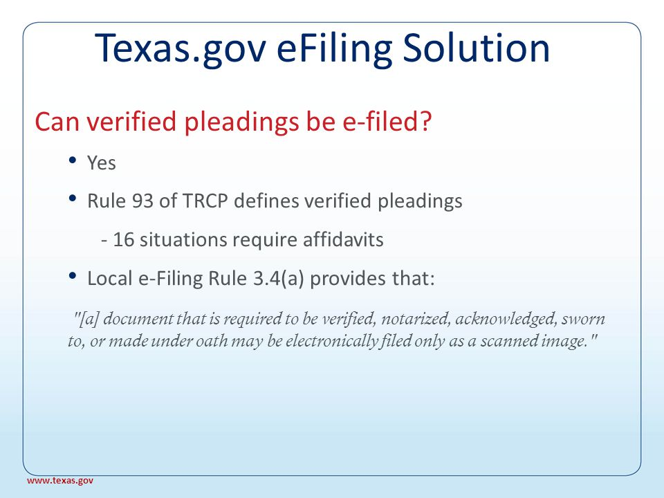 Receive immediate e-mail acknowledgment that your filing was submitted successfully Receive confirmation of acceptance from the Clerk How do I know my filing was submitted.
