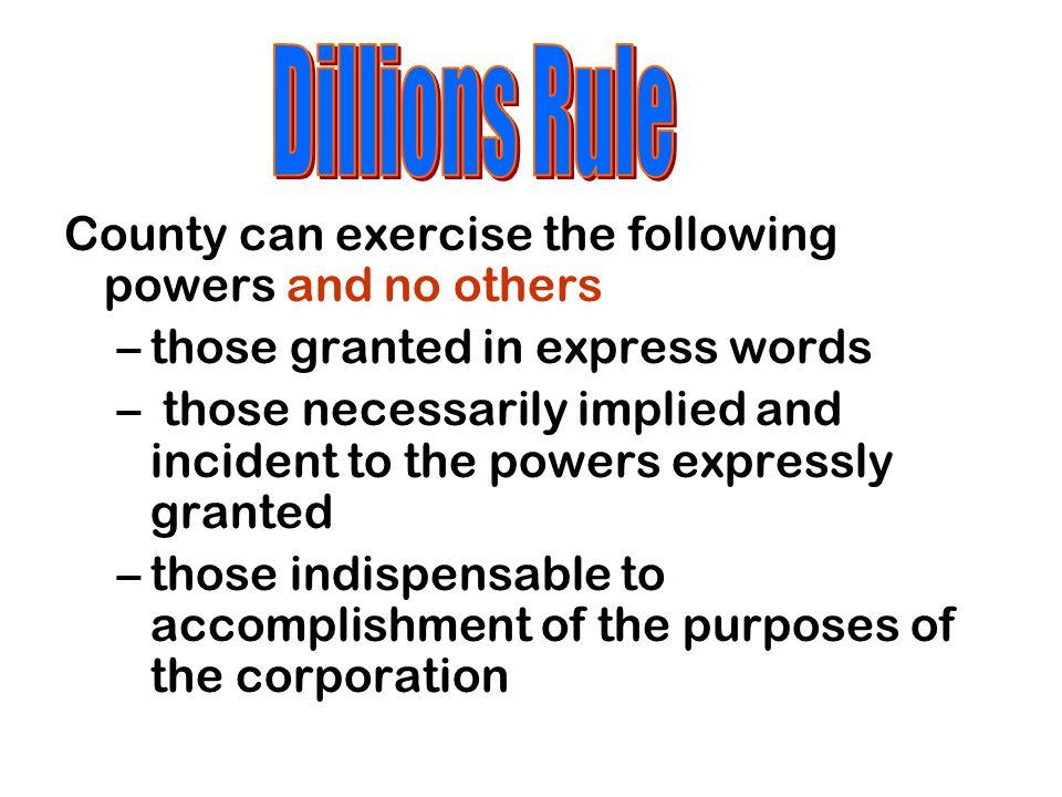 County Home Rule Amendment Art.